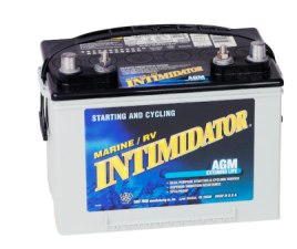 Deka Intimidator Drycell Battery